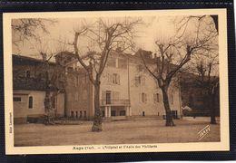 Aups - Hopital Et Asile Des Vieillards - Aups