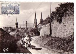 OBERNAI: Attelage De Boeuf, Tour De La Chapelle Et Eglise Saint-Pierre Et Saint-Paul - Obernai