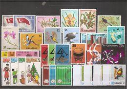 Singapour ( Lot De Timbres Divers Différents XXX -MNH) - Singapour (1959-...)