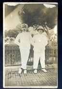 Cpa Carte Photo  -- Officiers Coloniaux    SEP17-56 - Personnages