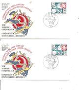 Nouvelles -Hébrides - UPU (  2 FDC De 1974 à Voir) - FDC