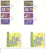 Nouvelles -Hébrides - Orchidées (  2 FDC De 1973 à Voir) - FDC