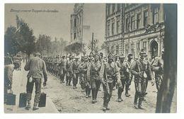 1. Weltkrieg Einzug Unserer Truppen In Jaroslau Foto-AK - Weltkrieg 1914-18