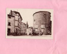 CPA - D43 - LOUDES - La Tour Ronde Rue De L'Eglise Derniers Restes Du Château Fort - Loudes