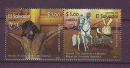 El Salvador  2007, UPAEP 2v Mnh - Mi 2489/90 - El Salvador