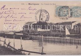 CPA MARTIGUES 13 LE CANAL DU ROI - Martigues