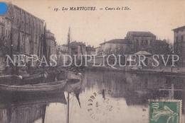 CPA MARTIGUES 13 COURS DE L'ILE - Martigues