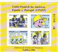 Honduras 2008, UPAEP S/s **, Mi BL94, Sn C1265, Sg MS1896 - Honduras