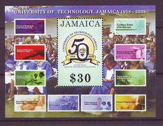 2008 The 50th Anniversary Of The University Of Technology - Minisheet. Mint ** - Jamaica (1962-...)