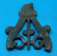 ROMAN BEAUTIFUL APPLIQUE, II C.A.D. 38 Mm. BRONZE - Archéologie