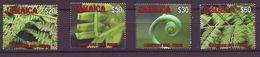 2008 Christmas - Ferns  - 4 V Mint ** - Jamaica (1962-...)