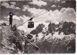 Chamonix-Mont-Blanc - Les Aiguilles Vues De Plan-Praz, 1968 - Chamonix-Mont-Blanc