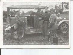 WK1  DER KRONPRINZ BEI UNSERER DIVISION 54 INF DIV  AUTO GROS PLAN - Guerre 1914-18