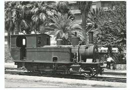 CPSM BVA 10466 - Locomotive 130 T5 SLM Manœuvrant à Cagliari 16/7/1964 Photo Wisseman - Equipment