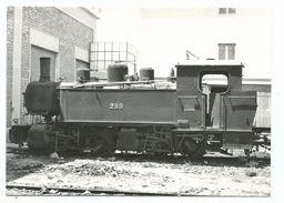 CPSM BVA 10469 - Cagliari Monseratto 1974: Locomotive Mallet 200, Schwarzkopt, Berlin 1909 Photo Jarne Format 10/15 - Equipment