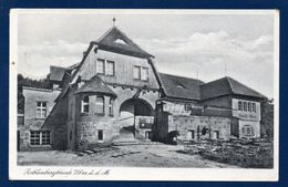 Pologne. Zobtenberg ( Sleza). Neue Baude. Refuge Au Sommet. Propr. Ad. Kaiser.  Avril  1943 - Pologne