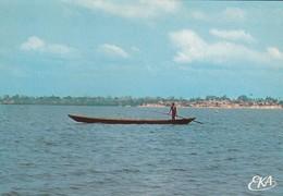 """TOGO----TOGOVILLE--le Lac-togo---"""" Le Passeur """"--voir 2 Scans - Togo"""