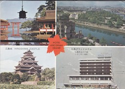 ASIE----JAPON---HIRISHIMA---hotel Hiroshima Grand--multivues--voir 2 Scans - Hiroshima