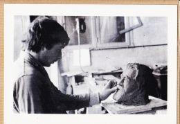 X81371 LAGARRIGUE Tarn Sculpteur Henri FABRE Junior Buste Jean JAURES Le Heros Politique Aout 1984 Tirage 100 Ex - Autres Communes