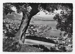 (RECTO / VERSO) MONTE CARLO EN 1952 - N° 415 - VUE GENERALE - CACHET ET TIMBRE DE MONACO - CPSM GF - Monaco