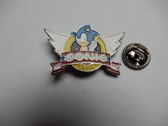 Beau Pin's , Jeu Sega Sonic - Jeux