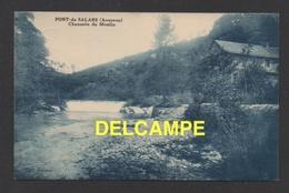 DD / 12 AVEYRON / PONT-DE-SALARS / CHAUSSÉE DU MOULIN  / CIRCULÉE EN 1933 - Autres Communes