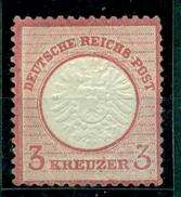 Deutsches Reich, Adler Mit Großem Brustschild, Nr. 25, Falz * - Ungebraucht