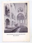 4010 HILDEN, Reformationskirche, Innenansicht, Keine AK-Einteilung, Kl. Einriss - Hilden