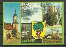 Deutschland 1997 Ansichtskarte LINDOW Nach Estland Gesendet - Allemagne