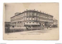 CPA POLOGNE VARSOVIE Grand Hotel De L'Europe - Poland