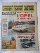 L'AUTO-JOURNAL De 1965 - N° 0371 - A La Une : L'OPEL ADMIRAL - Auto