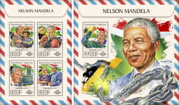 TOGO 2017 ** Nelson Mandela M/S+S/S - OFFICIAL ISSUE - DH1745 - Famous People