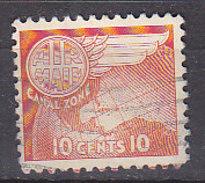 G2044 - PANAMA CANAL ZONE AERIENNE Yv N°24 - Canal Zone