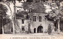 BOURBONNE LES BAINS DONJON DU CHATEAU COTE INTERIEUR TBE - Bourbonne Les Bains