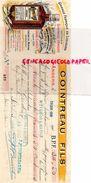 49-ANGERS-TRAITE FABRIQUE LIQUEURS COINTREAU-1908-TRIPLE SEC- PEPPERMINT-M. CERCLEUX CAFE BOURRELIER A SEICHES- - Alimentaire