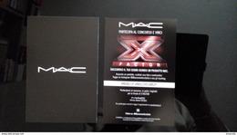 MAC Cosmetique Carte X Factor - Modern (from 1961)