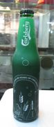 AC - 170th ANNIVERSARY OF CARLSBERG BEER 2017 EMPTY GLASS BOTTLE & CAP - Beer