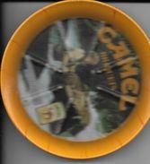 Publicité Ramasse Monnaie Cigarette CAMEL Briquet ZIPO - Dishware, Glassware, & Cutlery