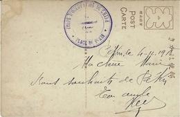 """1910- Carte Postale Japonaise En Franchise """" CORPS D'OCCUPATION DE CHINE /  PLACE DE PEKIN """" - Chine"""