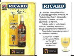 Publicité Affichette RICARD 8.5 X5.5 Cm Duty Free - Andere