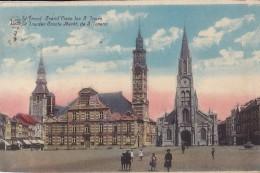 SINT-TRUIDEN : Grand'place - Les 3 Tours - België