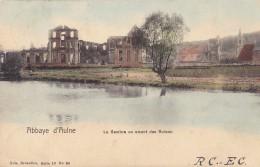 THUIN / ABBAYE D'AULNE : La Sambre En Amont Des Ruines - Zonder Classificatie