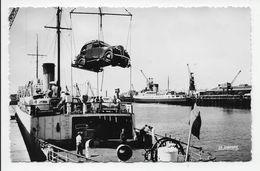 Calais - L'embarquement Des Voitures A Bord Des Transatlantiques - Calais