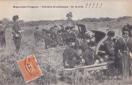 BRASSCHAAT - POLYGONE : Artillerie De Campagne, On Va Tirer - Belgique