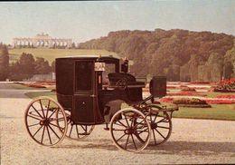 CPSM  AUTOMOBILES  COUPE KAISER FRANZJOSEPH 1848 - Taxi & Carrozzelle