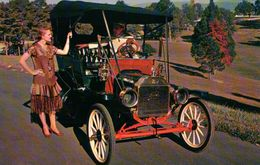 CPSM  AUTOMOBILES FORD 1910 - Taxi & Carrozzelle