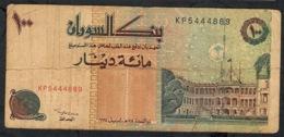 SUDAN P56a 100 DINARS 1994 FINE - Soudan