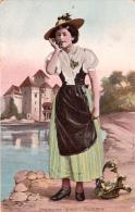 Costumes Suisses : VAUDOISE - 1906 - Costumes