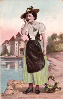 Costumes Suisses : VAUDOISE - 1906 - Trachten