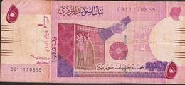 SUDAN P66 5 DINARS 2006 AVF NO P.h. ! - Soudan